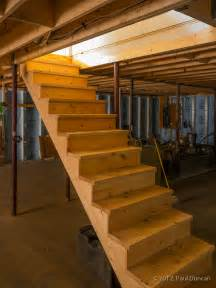 how to build basement steps home design inspirations