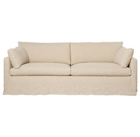 feather down sofa cisco brothers louis modern classic oatmeal linen slip
