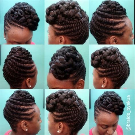 updo hairstyles with big twist flat twisted updo by ekua flat twist updo flat twist