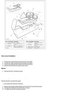 2008 mercury mariner console removal and installation service manual 2008 mercury mariner console removal and installation 2008 mercury mariner