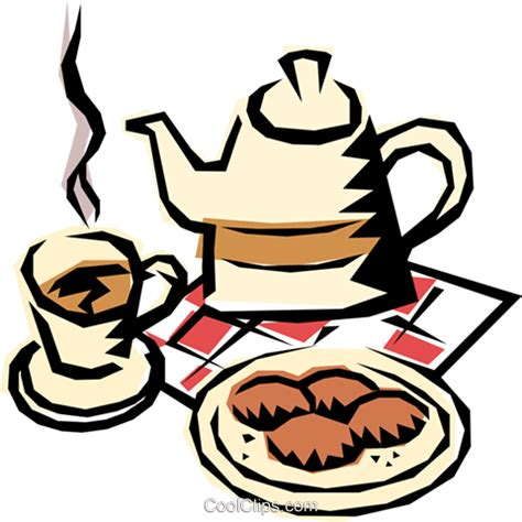 clipart kaffee und kuchen kaffee vektor clipart bild food0080 coolclips