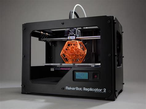 3d print makerbot is done its own 3d printers extremetech