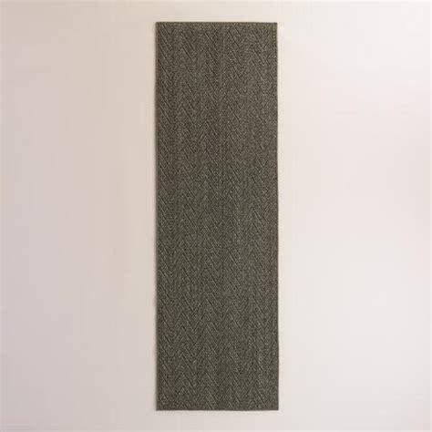 world market sisal rug serged border charcoal jacquard weave sisal area rug world market