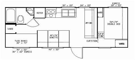 30 ft travel trailer floor plans 30 foot travel trailer floor plans gurus floor
