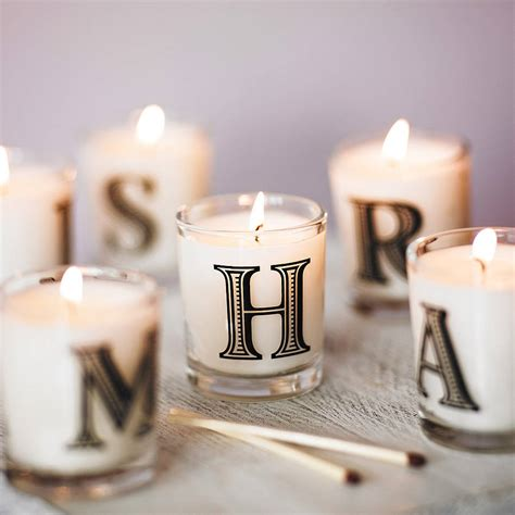 alphabet scented candle by the country candle company ... V Alphabet Images In Heart