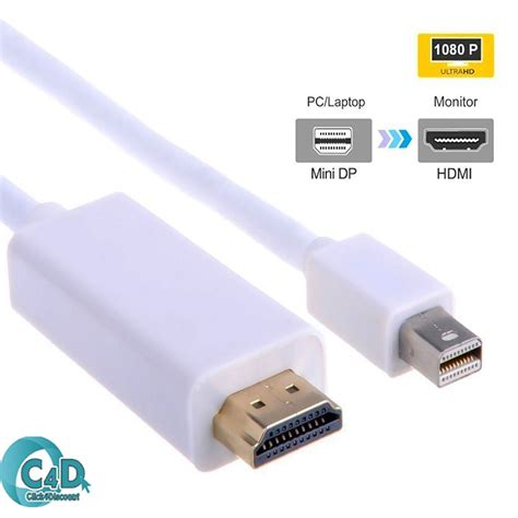 Kabel Macbook Pro 5m mini bildschirm port dp thunderbolt auf hdmi tv kabel adapter macbook pro