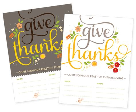 printable thanksgiving invitation cards free thanksgiving printable invites and tags how about