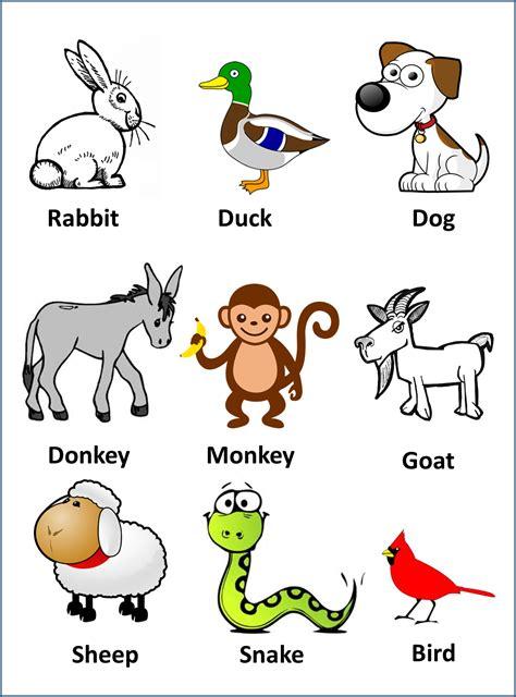imagenes animales ingles 191 nombres de animales en ingl 233 s con im 225 genes material