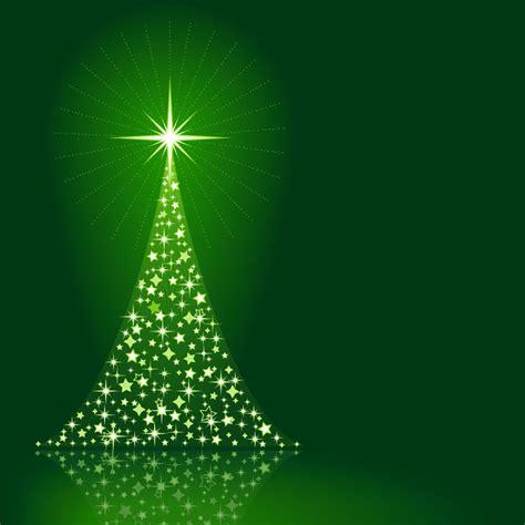 imagenes navidad verde 193 rbol chispeante de navidad en fondo verde descargar vector