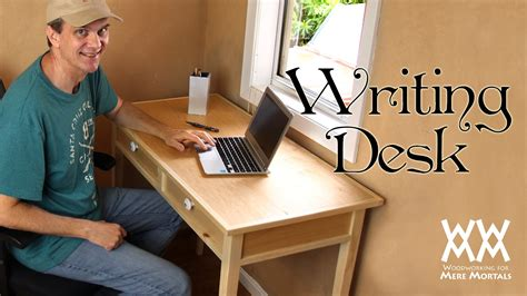 small desk plans free make a quaint and charming writing desk free woodworking