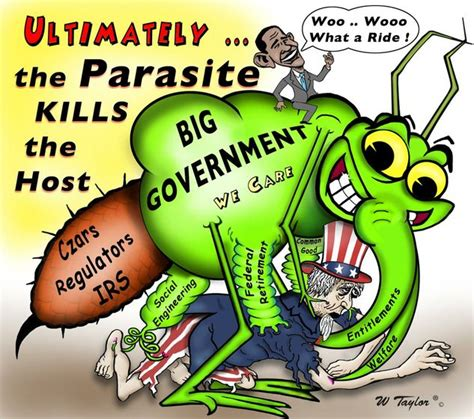 capitalist parasites political parasites both big and small totus