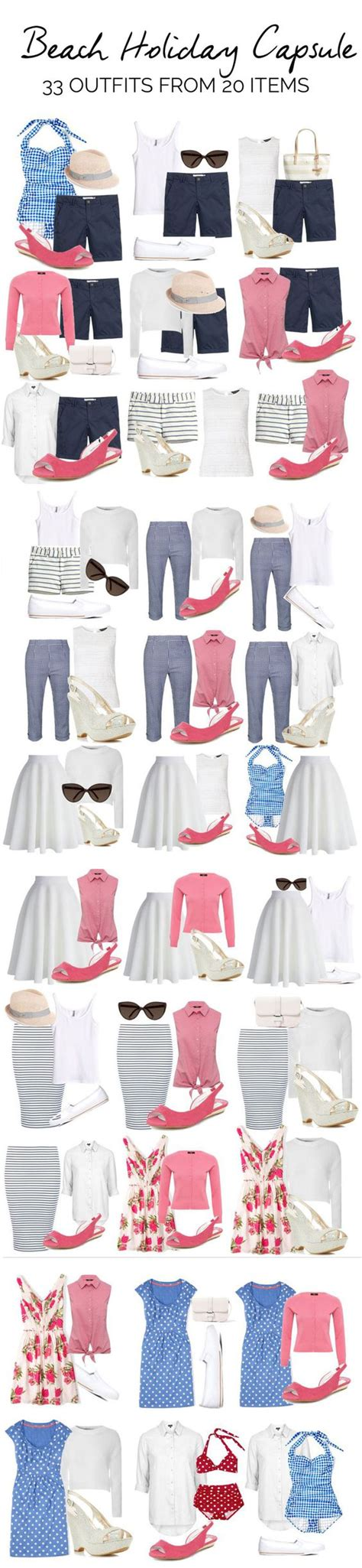 wardrobe oxygen what to pack for vacation what to pack beach vacations and capsule wardrobe on