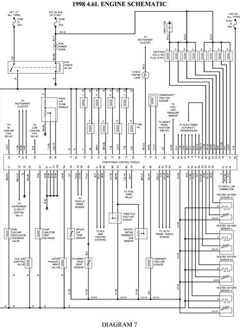 2000 mercury grand marquis wiring diagram 2000 mercury grand marquis engine diagram free