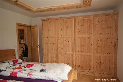 zirbenschlafzimmer schlafzimmer aus zirbenholz