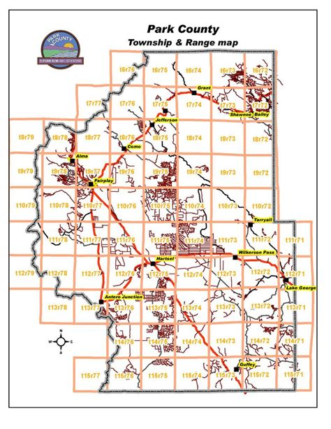section township range search park county township and range map colorado counties