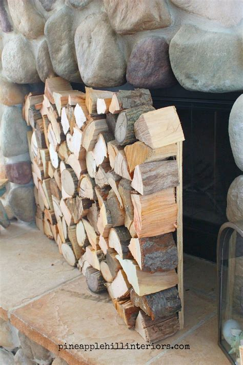 Decorative Wood Logs For Fireplace by The 25 Best Empty Fireplace Ideas Ideas On