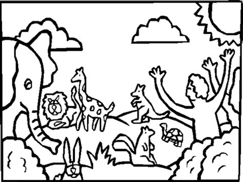 coloring pages god made animals god created animals coloring pages coloring pages for free