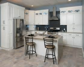 Rta Shaker Kitchen Cabinets All Wood Kitchen Cabinets 10x10 Frosted White Shaker Rta Free Shipping Ebay