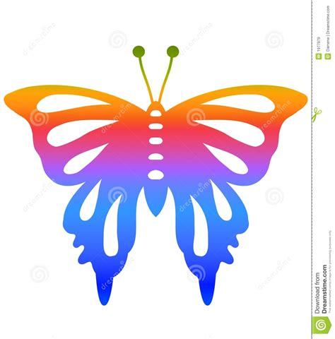 design free stock photo illustration of a colorful colorful butterfly design stock illustration image of