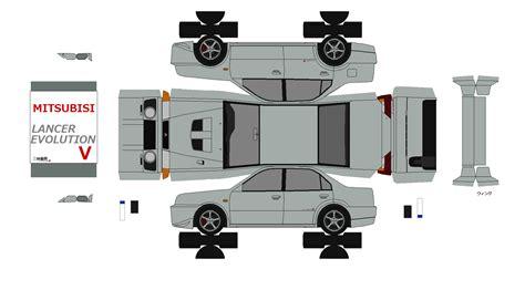 Hp Papercraft - 布沢アルペジオペーパークラフト館 三菱車
