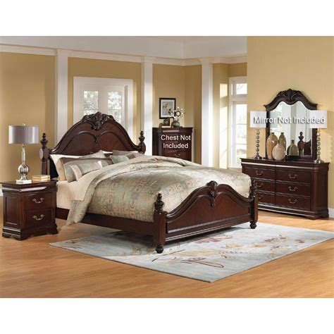 bedroom furniture set westchester 6 piece queen bedroom set
