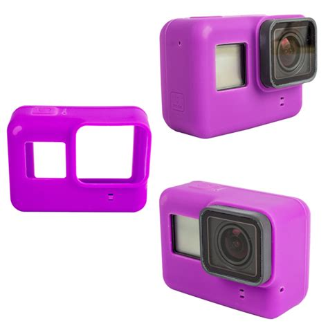 Soft Silicone Cover For Gopro 5 Diskon soft silicone cover rubber shell for gopro 5 protective accessories