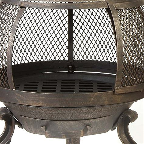 deckmate outdoor fireplace deckmate sonora outdoor chimenea fireplace model 30199