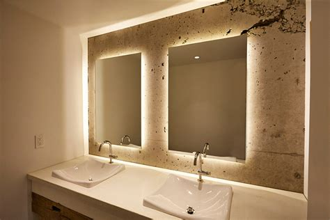 Bathroom Backlit Mirrors 8 Reasons Why You Should A Backlit Mirror In Your Bathroom Contemporist