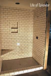 Glass Subway Tile Bathroom Ideas 30 ideas for using subway tile in a shower