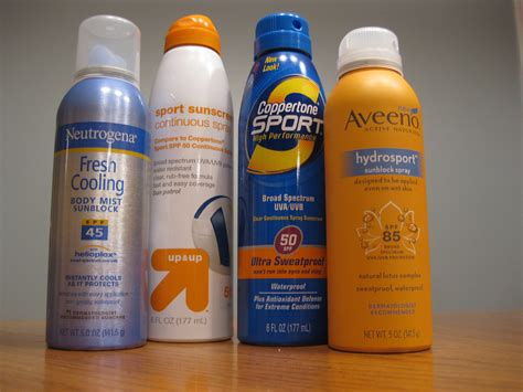 sunblock spray my product rating spray on sunblock