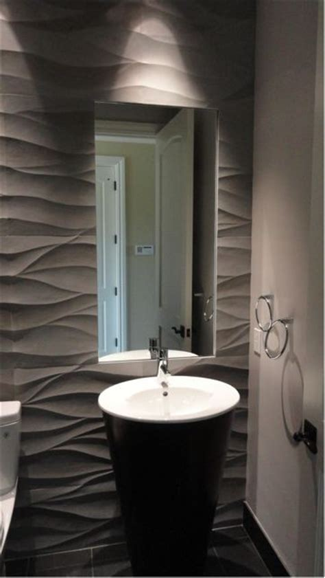 modern powder room ideas this powder room makes use of a hand carved italian