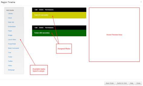 xibo layout design xibo documentation xibo open source digital signage