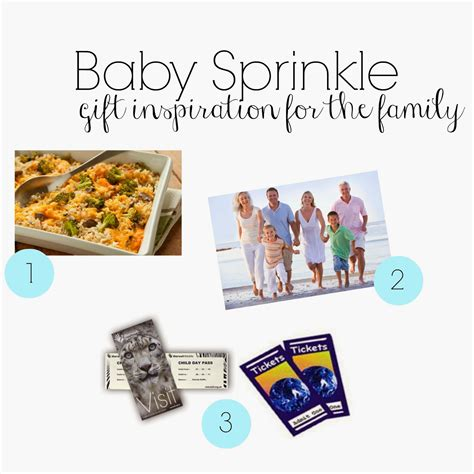 Gift Card Ideas For Families - sprinkle gift ideas gift ftempo