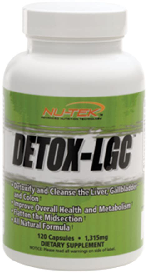 Nu Tek Detox Lgc by Detox Lgc Nutrishop Brandon Vitamin And Nutrition Store