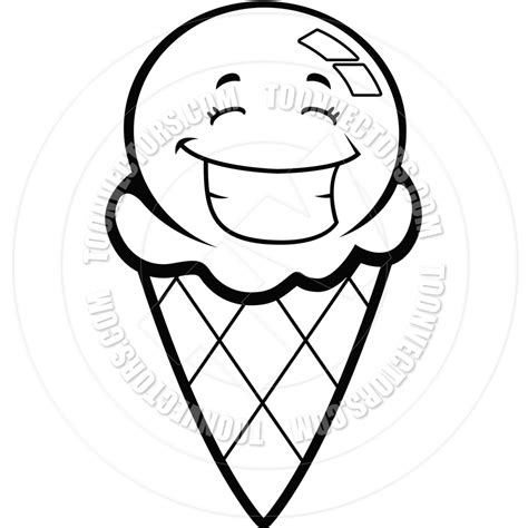 Scoop Clipart Black And White