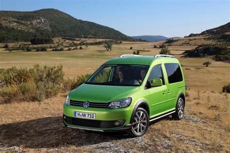 volkswagen launches cross caddy autoevolution