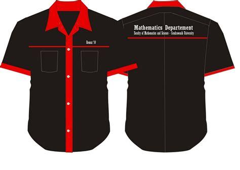Desain Baju Jurusan | desain baju kemeja jurusan matematika fmipa uncen