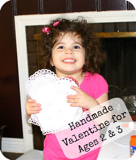 valentines made completely by your child easy enough for