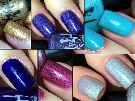 girly l shades nail polish wars girly bits swatch review