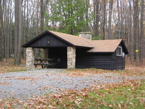 Pennsylvania State Park Cabins by National Register Of Historic Places Listings In Clearfield County Pennsylvania