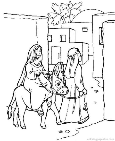 Nativity Story Coloring Pages Coloring Home Story Coloring Pages