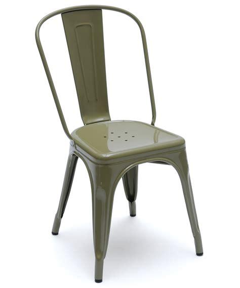 chaise a tolix chaise a de tolix acier laqu 233 12 coloris