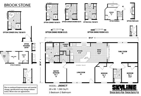 mobile home floor plans florida 2000 skyline mobile home floor plans