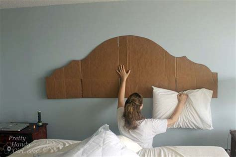 Headboard Templates by How To Create A Rustic Wood King Headboard Pretty Handy