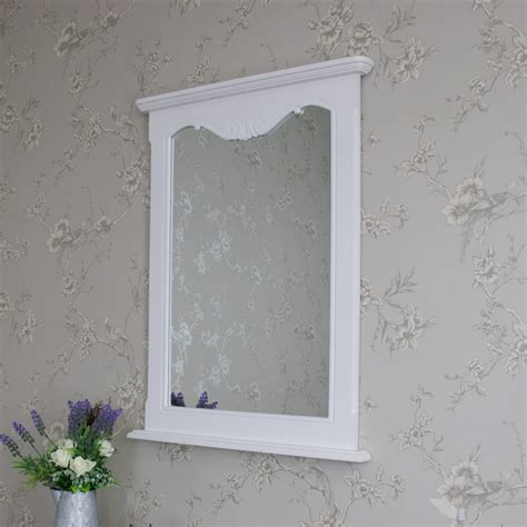wall mounted mirrors bedroom elise white wall mounted mirror french white bedroom