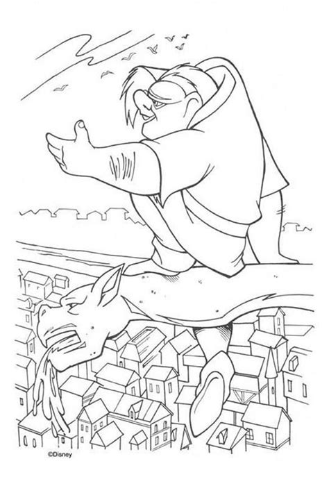 disney coloring pages hunchback notre dame quasimodo coloring pages hellokids com