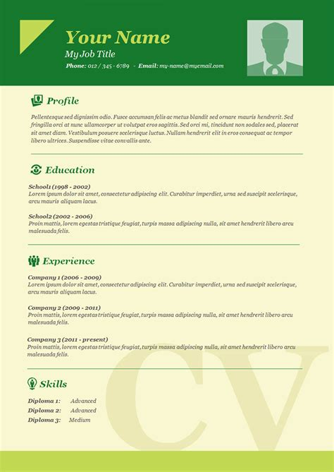 Easy Cv Template Free by 70 Basic Resume Templates Pdf Doc Psd Free