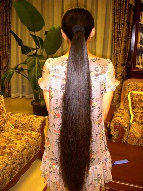 knee length long hair show chinalonghaircom