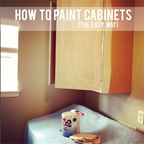 easy way to paint kitchen cabinets how to paint pre finished cabinets laundry room progress