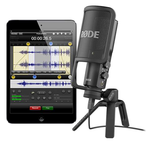 rode nt usb professional usb condenser microphone with pop